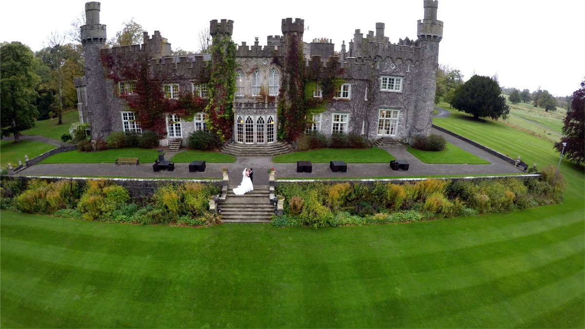 We had been doing babysitting services a few different times in the beautiful Luttrellstown Castle, in Castlecknonk area in Dublin.