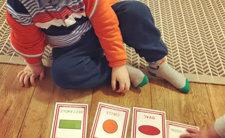 Shapes and colors in early years