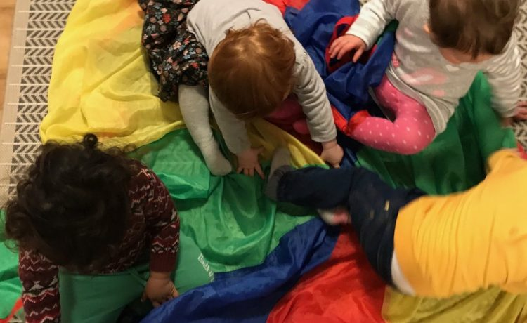 Parachute games for children